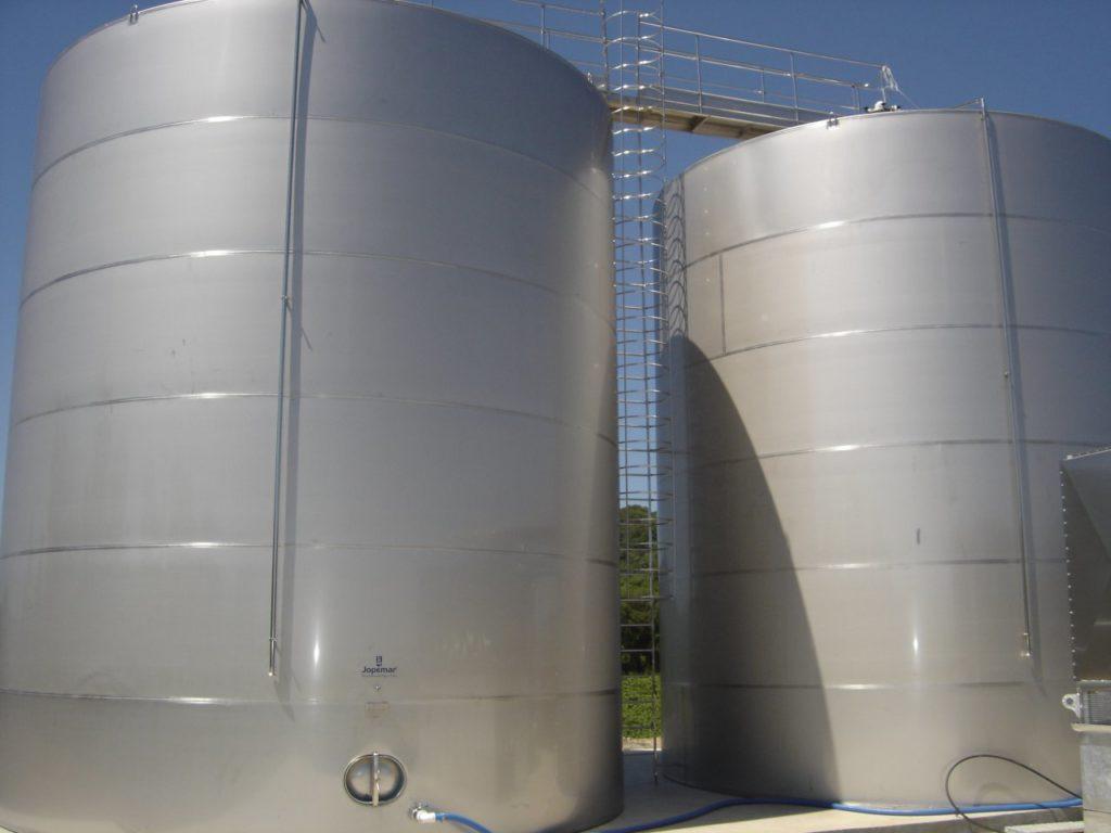tanques de aço inox para água