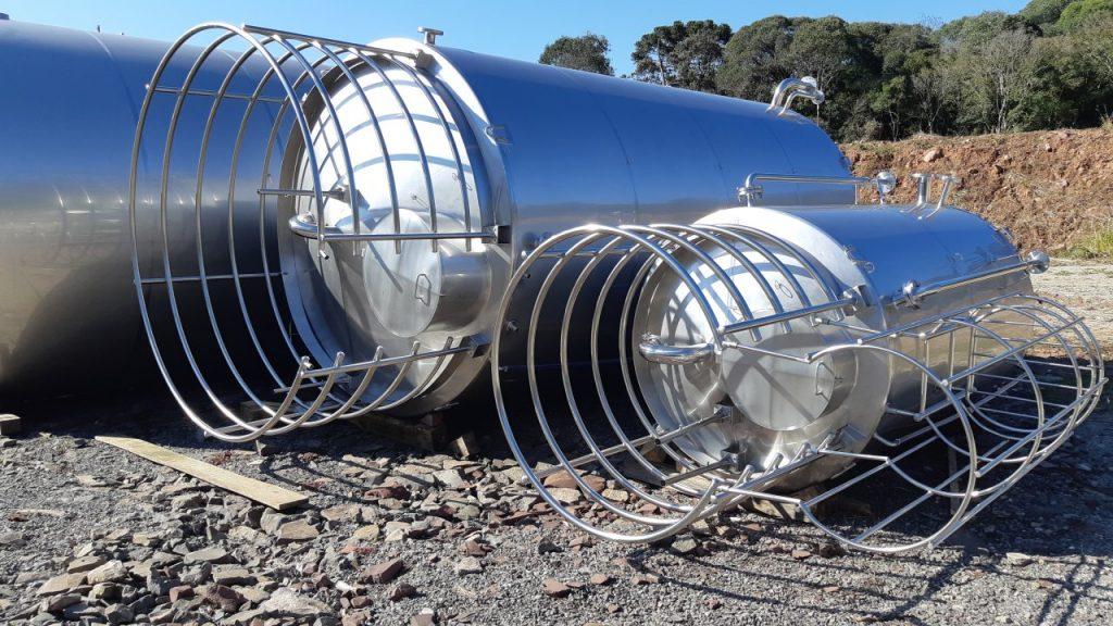 tanques de aço inox